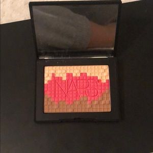 NARS blush bronzer and highlight pallet